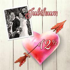 Uitnodiging huwelijksfeest hart2 - Jubileumkaarten - Kaartje2go - ©OTTI & Lorie Davison