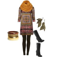Love tunic, leggings and boots