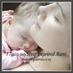 7 Tips To Help Sleep Deprived Mums: There's nothing quite like the tortuous sleep deprivation of a baby's first year (although in my experience sadly, it hasn't exactly improved over the following years!). The level of tiredness you experience, particularly in that newborn phase, is like nothing else. The constantly broken sleep makes you feel a bit crazy.