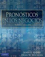 John E. Hanke. Pronósticos en los negocios. 9ª ed. ISBN 9786074427011. Disponible en: Base de Datos Pearson