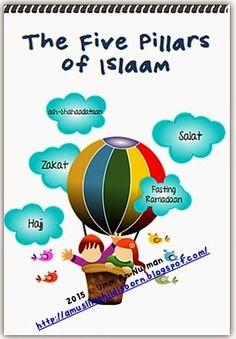 A Muslim Child is Born: The Five Pillars of Islaam: A Kindergarten Workbook Ramadan Activities, Learning Activities, Activities For Kids, 5 Pillars, Pillars Of Islam, Kindergarten Workbooks, Kindergarten Class, Teaching Kids, Kids Learning