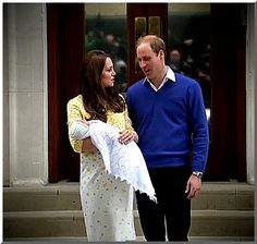 Kate, William and the new Princess