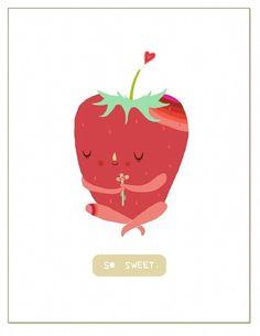 So Sweet // greeting card - Laura Berger