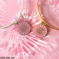 ALEX AND ANI newest CHARITY BY DESIGN bangle, Spiral Sun! Supporting BCRF!