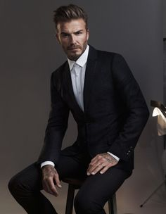 David Beckham + Kevin Hart for H&M Modern Essentials Fall 2015 Campaign