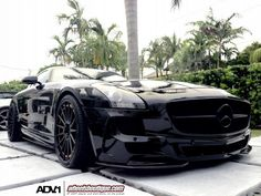 awesome A Mercedes-Benz SLS AMG named 'Darth Vader' Click on the pic to find out... Luxury Car Lifestyle Check more at http://autoboard.pro/2017/2017/02/21/a-mercedes-benz-sls-amg-named-darth-vader-click-on-the-pic-to-find-out-luxury-car-lifestyle/