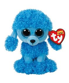 d949771720ab59 Loving this Mandy Poodle Beanie Boo Plush on #zulily! #zulilyfinds Beanie  Boo Dogs