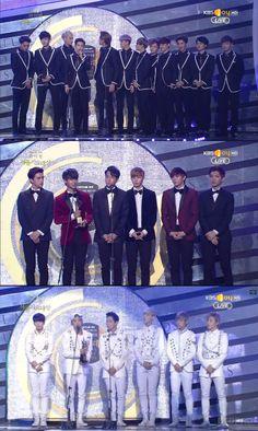 EXO, VIXX, and B.A.P all win Bonsangs at the Seoul Music awards! #EXO #BAP #VIXX #Bonsang #SeoulMusicAwards