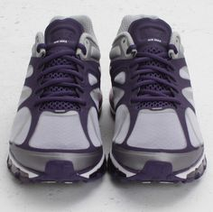 Here is another colorway of the Nike Air Max+ which is currently making the rounds. The Hyperfuse upper comes in a mix of ink purple, metallic silver Nike Air Max 2012, Cheap Nike Air Max, Nike Air Max For Women, Nike Women, Running Shoes Nike, Nike Shoes, Cute Nikes, Cheap Sneakers, Sneaker Magazine