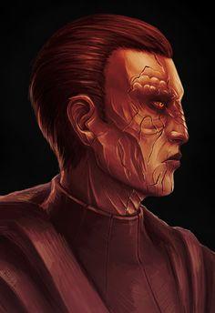 Sith pureblood sketch by kirashik