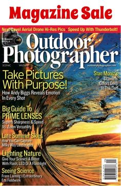 Outdoor Photographer Magazine Sale: as low as $4.66 per year!  {loaded with fun photgraphy tips and tricks!}