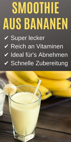 Bananensmoothie (Rezept) – Perfekt für's Abnehmen You just have to know this recipe for a tasty banana smoothie! Mango smoothie bowl with banana and passion fruitLean quark: healthy, perfect for losing weight and for dBanana Smoothie for Weight Loss Fruit Smoothies, Smoothies Banane, Raspberry Smoothie, Strawberry Blueberry, Smoothie Prep, Smoothie Recipes, Smoothie Bowl, Exotic Food, Le Diner