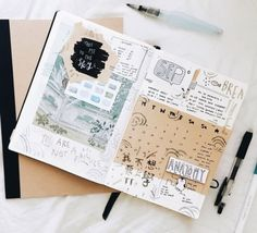 Ways to Use Your Bullet Journal for Best Results – Bullet Journal 101 Planner Bullet Journal, Bullet Journal Spread, Bullet Journal Inspo, Bullet Journal Layout, Journal Notebook, Journal Pages, Bullet Journals, Bullet Journal Vacation, Life Journal