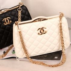 Handbags & Wallets - 2014 European and American big new wave of small fragrant Quilted chain bag ladies fashion bags shoulder bag 316 $66.41 - How should we combine handbags and wallets?