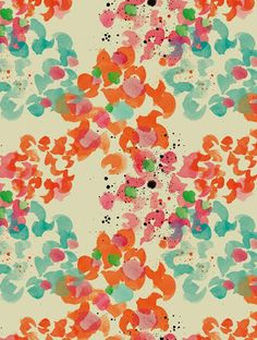 pattern and fashion designer from spain- moniquilla (paint pattern)