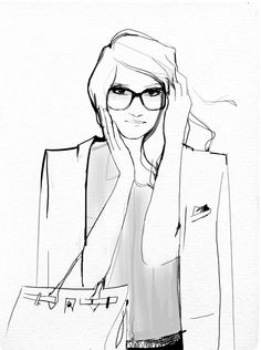 Garance Dore #Fashion #Illustration #Art