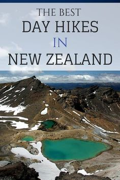 The best day hikes in New Zealand, including Mount Taranaki, the Tongariro Crossing and Mount Cook New Zealand Itinerary, New Zealand Travel Guide, Road Trip New Zealand, Places To Travel, Travel Destinations, Places To Visit, Visit Australia, Australia Travel, New Zealand Adventure
