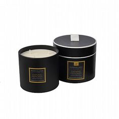 Marmalade of London 3 Wick Evening Memories Luxury Large Black Glass Candle available on www.thegreatbritishhome.com #candles #madeinbritain #marmaladeoflondon #homefragrance #britishcandles #thegreatbritishhome
