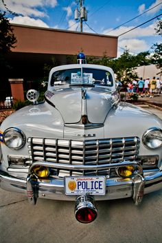 About the only time ya get pulled over; that You could chat Mopar, and maybe get a break...  >Police car<....