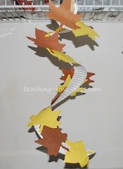 Fall leaves paper plate craft - To add color we painted the plate before cutting it  sc 1 st  Pinterest & Paper plate scarecrow-craft | Unschool/Homeschool | Pinterest ...