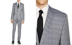 00fdf9f1 HUGO Sharkskin Aeron/Hamen Extra Slim Fit Suit Extra Slim Fit Suits,  Designer Suits
