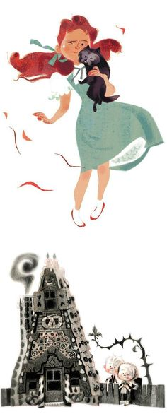 Illustrations by Annette Marnat | Inspiration Grid | Design Inspiration