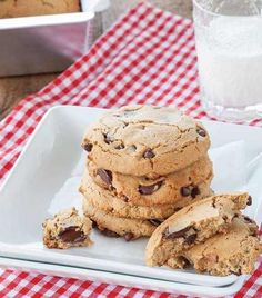 Best chocolate chip cookie ever. I may like these better than traditional. Not to sweet and light, fluffy and held together well. Delicious!