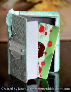 Janet's Book Lovers Gift Box Tutorial