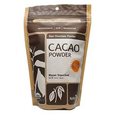 Navitas Naturals Cacao Powder Raw Organic 9 Pack * You can find more details by visiting the image link. (This is an affiliate link) Chocolate Powder, Raw Chocolate, Baking Chocolate, Organic Cacao Powder, Baking Ingredients, Superfoods, Diet, Canning, Health