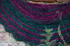 Dandelion Stitch Sampler Shawl (handknit shawl design - http://www.ravelry.com/patterns/library/dandelion-stitch-sampler-shawl)