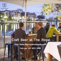The Royal, superbly situated in East Perth serves drinks, which include a wide range of hand-made craft beers on tap that will make your mind relaxed after long working hours. For more details visit: http://www.theroyaleastperth.com/food-and-drink/
