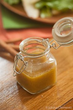 Apple Cider Vinaigrette......apple cider vinegar, maple syrup, Dijon mustard, cinnamon and olive oil