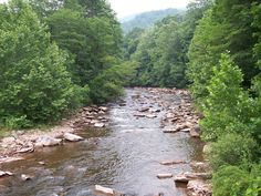 Cheat River WV...My Dad,Granddad and Uncles fished in this river