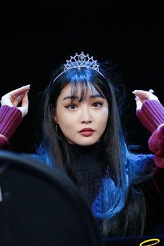 South Korean Girls, Korean Girl Groups, Chung Ah, Kim Chungha, Fandom, Hair Art, Kpop Groups, Me As A Girlfriend, Korean Singer