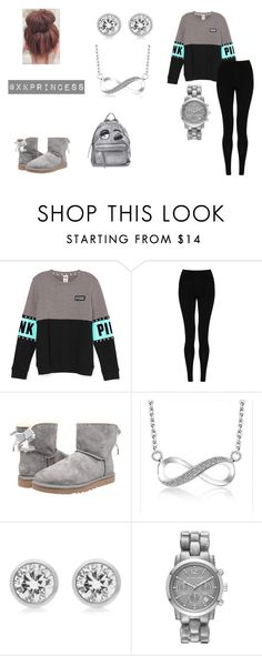 """""""Untitled #365"""" by xkprincess on Polyvore featuring M&S Collection, UGG Australia, Michael Kors and Chiara Ferragni"""