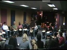 How to play Body Beat game from UpBeat Drum Circles - YouTube
