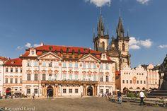 Prague city centre // photographer: Raymond Loyal // // visit my website Prague City, Czech Republic, Centre, Tourism, To Go, Louvre, Mansions, Website, House Styles