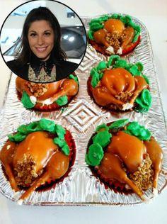 Turkey cupcakes! Wow.