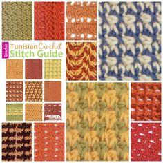 Tunisian Crochet Stitch Guide | Leisure Arts Discount