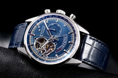 Zenith [NEW] El Primero Chronomaster Power Reserve Blue Dial Mens Watch 03.2085.4021/51.C700, Limited Edition of 1975 Pieces at Special Price:- HK$56,500.