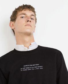 Peças que falam por si | A tendência das frases #Zara