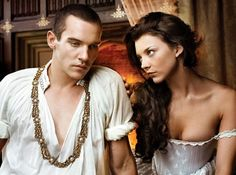 the Tudors...  a.k.a. Real Housewives of Buckingham Palace. So it's not accurate history--it's so ADDICTIVE!