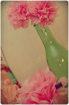 Good tutorial on tissue paper flowers