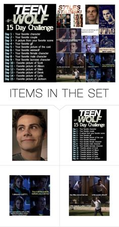 """Teen Wolf 15 Day Challenge: Day 1"" by teenwolfmoosic on Polyvore featuring art"