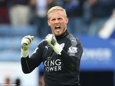 Leicester's Kasper Schmeichel is now a Premier League winner just like his father Peter di...