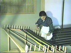 Yuki-tsumugi, silk fabric production technique - YouTube