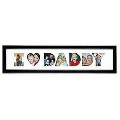 Personal Creations 'I Heart Daddy' Horizontal Photo Collage Frame Fathers Day Ideas For Husband, Fathers Day Photo, Fathers Day Gifts, Gifts For Dad, Man Gifts, Photo Collage Gift, Photo Collages, Family Collage Frame, Collage Frames