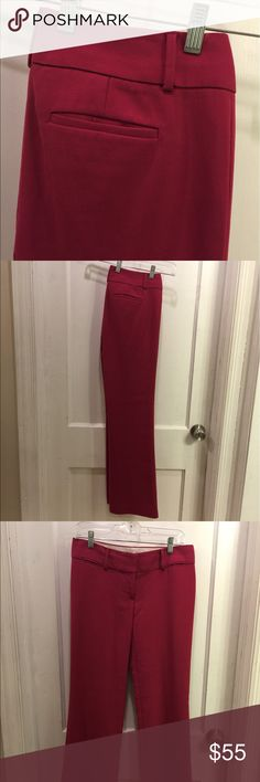 Marisa Raspberry Trousers LOFT knows how to make a gorgeous pair of dressy pants! Beautiful rosy color and so gently used they look brand new! Fully working clasps and zipper and button on front. Style is called Marisa. Make me an offer and we can negotiate pricing! ☺️💗 LOFT Pants Trousers