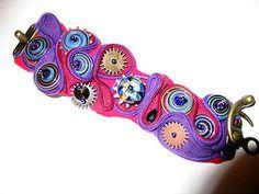 Free Beading Tutorial - Steampunk Zipper  Bracelet