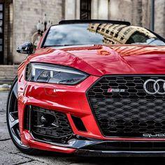 Elegant Red Audi ready to cruise with this nice car Beautiful and nice automobile Highend luxury sport cars Audi Rs5, Audi Quattro, Bugatti, Audi Lamborghini, Sexy Cars, Hot Cars, Bmw 335i, Carros Audi, Audi Sport